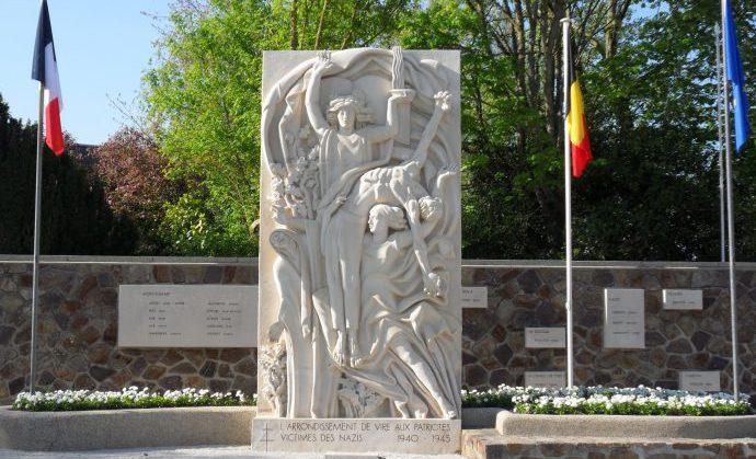 communes, mairie annexe, montchamp, monument, déportés