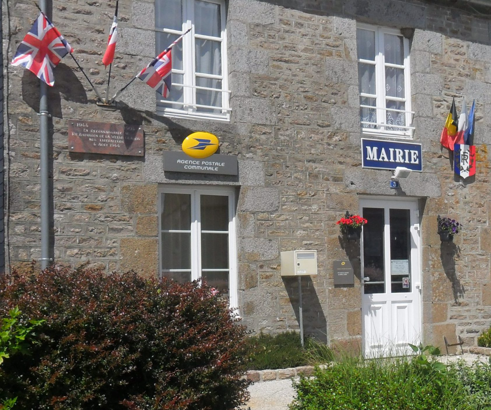 Mairie annexe de Montchamp