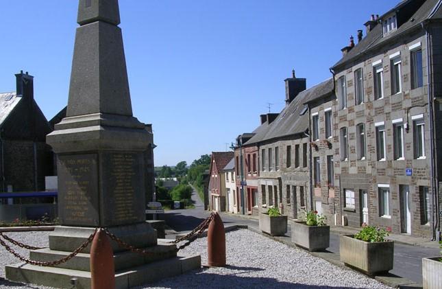 commune , valdalliere, mairie annexe, bernieres le patry, monument aux morts