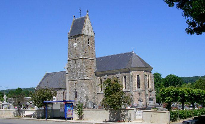 communes, mairie annexe, montchamp, église