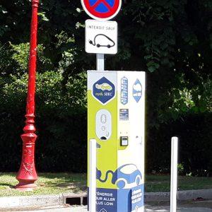 Les Bornes de recharge pour les véhicules électriques