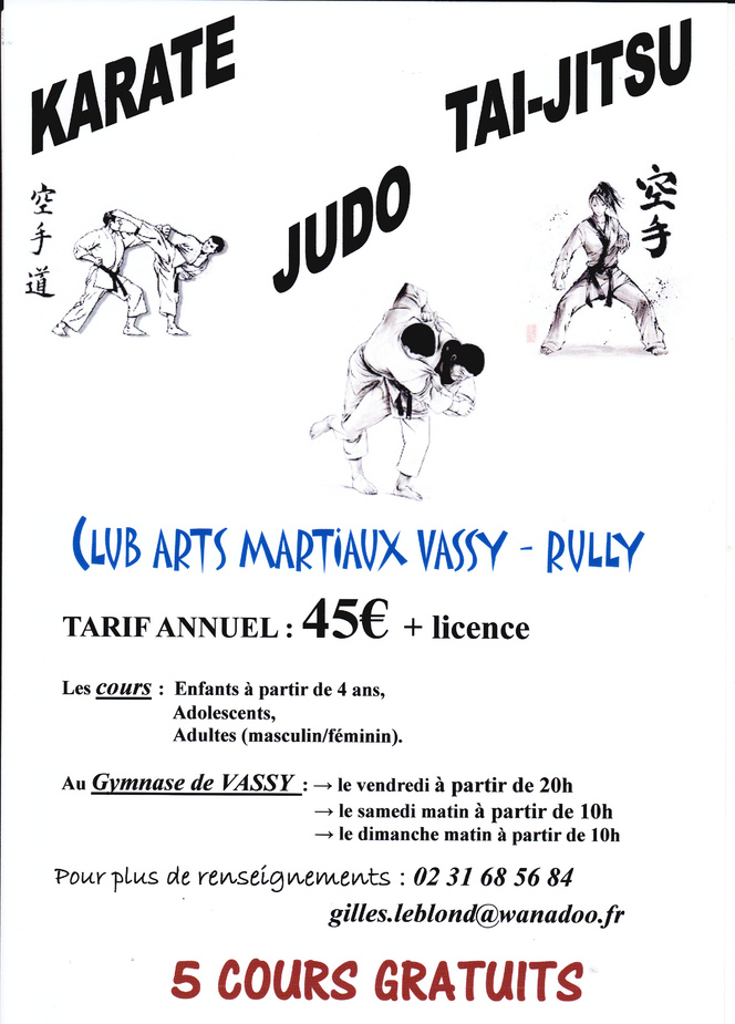 Judo Club Vassy Rully