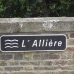 L'Allière, pont de Burcy