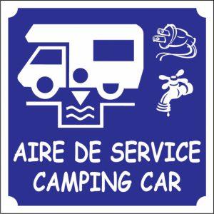 Aire pour camping-car à Montchamp