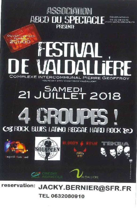 FESTIVAL DE VALDALIERE